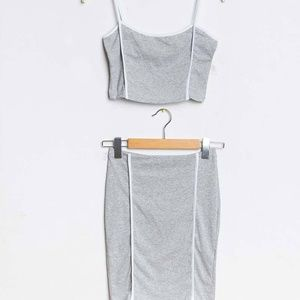 Gray Sport Tank Set Made in Italy